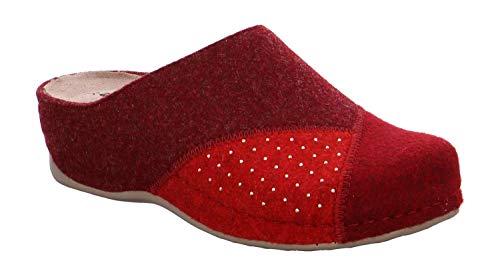 Weinrot Rohde Damen Amalfi Pantoffeln 48 Rot FqSgAr1cqw
