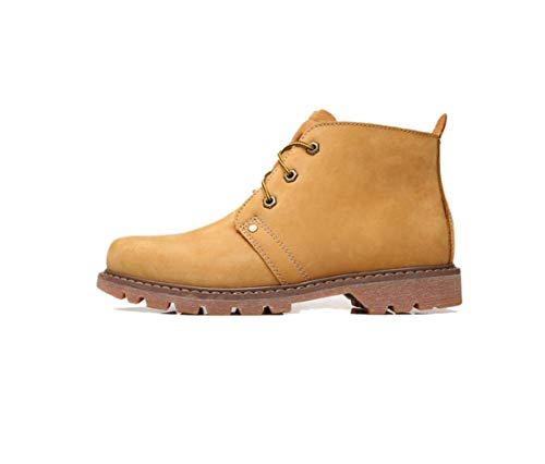 Boots Martin Stivali Inverno Autunno Uomo Da Lace Inghilterra Tooling Casual Yellow wFFEYfxTq
