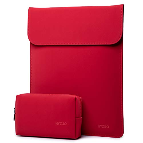 estuche + bolso para notebook 13 pulgadas rojo HYZUO