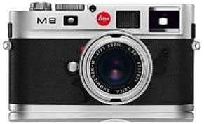 Leica M8 10.3MP Digital Rangefinder Camera with .68x Viewfinder (Black Body Only) (Discontinued by Manufacturer)