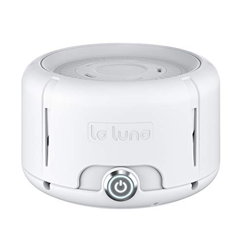 White Noise Machine by La Luna Fan Sound Generator of White Noise for Sleep, Baby and Privacy Multiple Speed & Volume Control Settings