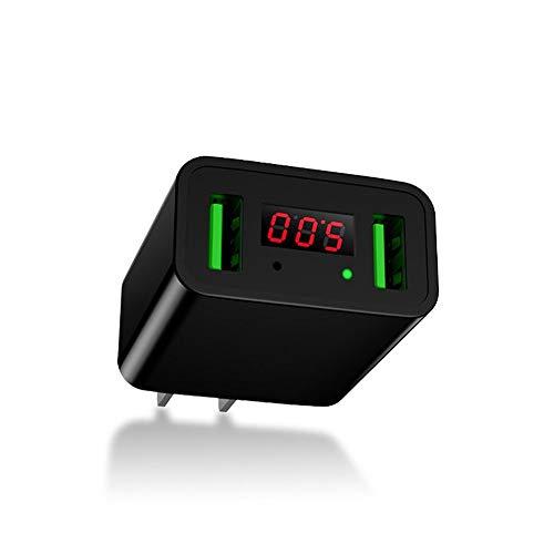 Cargador de Celular, CHOETECH 2-Puertos USB Cargador de Pared con Pantalla Digital LED 5V/2.2A Wall Charger para iPhone XS/...