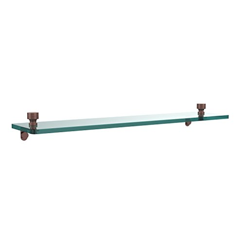 Allied Brass FT-1/22-CA Single Shelf, 22-Inch, Antique Copper by Allied Precision Industries