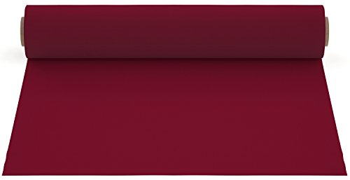 Firefly Craft Heat Transfer Vinyl for Silhouette and Cricut, 12 Inch by 20 Inch, Maroon
