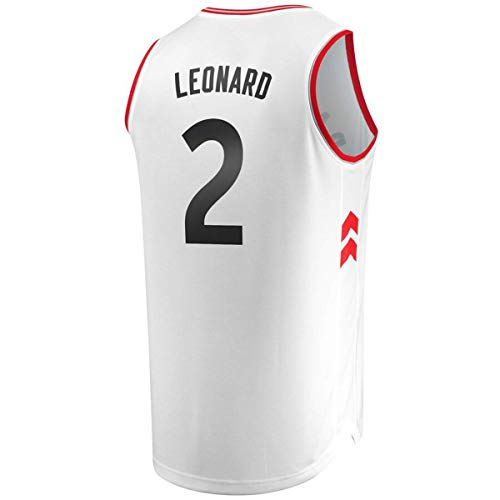 Men/Youth_Kawhi_Leonard_#2_Basketball_Fans_Jerseys_White_Game_Jersey from Daicksal