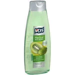 Vo5 Herbal Shampoo (Alberto VO5 Herbal Escapes Kiwi Lime Squeeze Clarifying Shampoo, 15 Ounce)