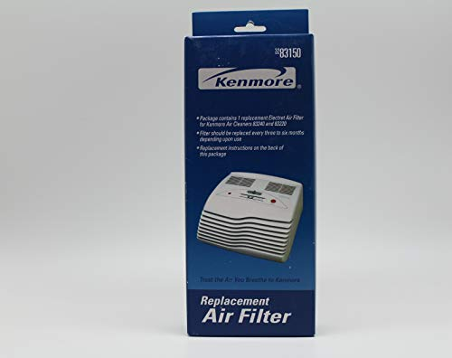 Kenmore 83150 Electret Air Filter 3-Stage Filtration [for Kenmore 83240 and 83220 Air -