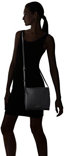 M4rissa x b Sac Noir Calvin x Klein Femme t h 22x7x23 Flat Black Crossbody cm 5xx8Uwgqz