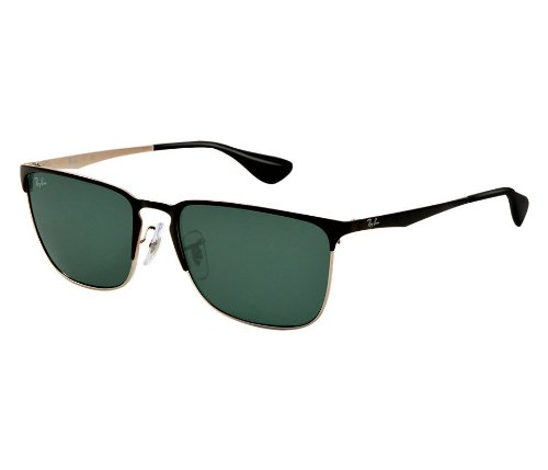 de92c8c0626 Ray-Ban Square Sunglasses (Black) (RB3508