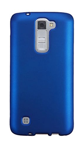 MyBat Cell Phone Case for LG K7/Tribute 5 - Retail Packaging - Blue
