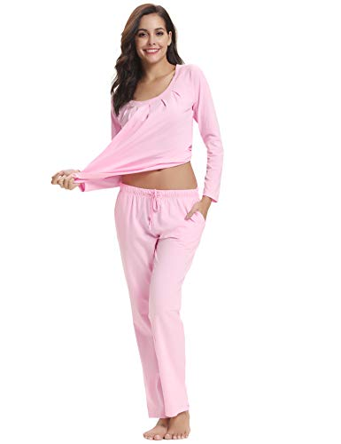 Conjuntos de Aibrou pijama Top para mujer algod de 7xw7r4qngH