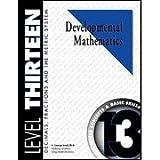 Developmental Math, Level 13, Student Workbook