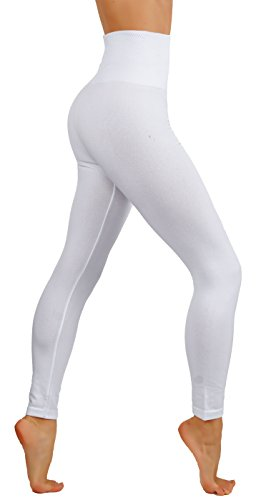 CodeFit Premium Thick Heavy Fleece High Waist Tummy Control Slimming Winter Thermal Leggings (S/M USA 2-6, - Gifts Bulk Order