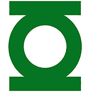 Green Lantern Vinyl Decal for laptop windows wall car boat