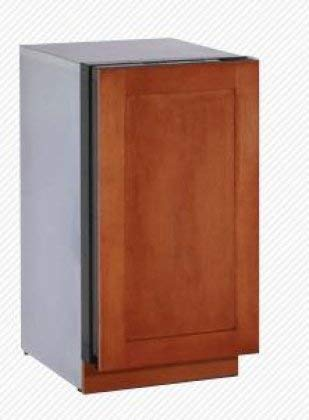 Modular 3000 Series 3.4 Cu. Ft. Single Door Refrigerator Hinge: Left, Door Panel: Wood Overlay (Renewed)