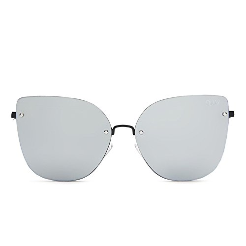 Quay Australia LEXI Women's Sunglasses Cat Eye Mirrored Lenses - Australia Sunglasses Eye Cat