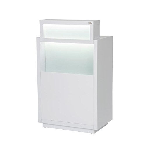 BEAUTY SALON RECEPTION DESK ALL PURPOSE RECEPTION DESK RECEPTION COUNTER WITH ILLUMINATION LIGHTS - ORSACCHIOTTO