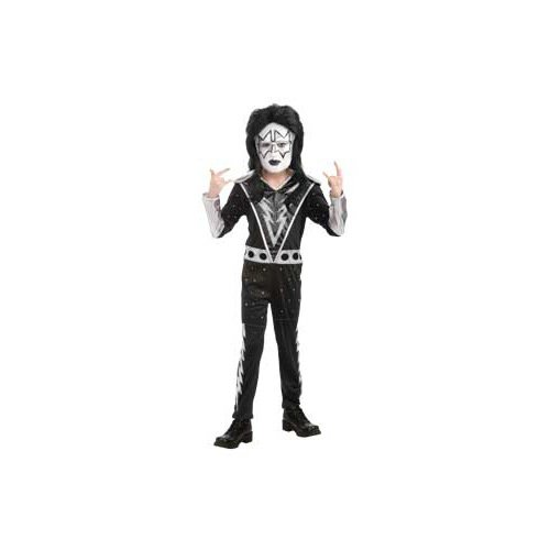 Kiss Band Halloween Costume (KISS Band - Spaceman Child Costume Size 12-14)