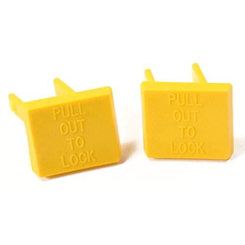 Craftsman 22256 Power Tool Safety Key, 2-Pack Genuine Original Equipment Manufacturer (OEM) Part Yellow