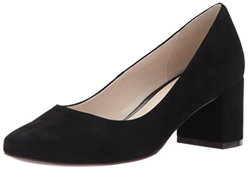 Cole Haan Women's Justine Pump 55Mm, Black Suede, 8 B US by Cole Haan