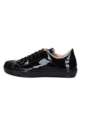 Donna Biancospino Shine Pinko Vernice New Baby Nero Sneakers Pelle Scarpe Nera qXTw7q