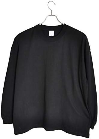 5.6オンス ビッグシルエット ロングスリーブ Tシャツ(5019-01)(501901)