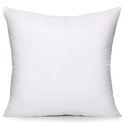 Acanva Hypoallergenic Soft Pillow Insert, 26x26, -