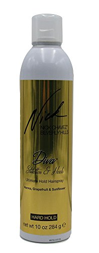 Nick Chavez Beverly Hills Diva Stilettos & Heels Ultimate Hold Hairspray 10 oz. (Dive Ultimate)