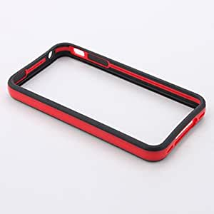 NEW Soft Silicone Bumper Frame Case for iPhone 4, 4S (Metal Button) , Pink