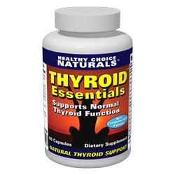 Essentials thyroïde thyroïde Formule All Natural soutien à une thyroïde et Perte de poids - 60 Count