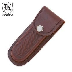 "BudK Leather 5"" Knife Sheath"