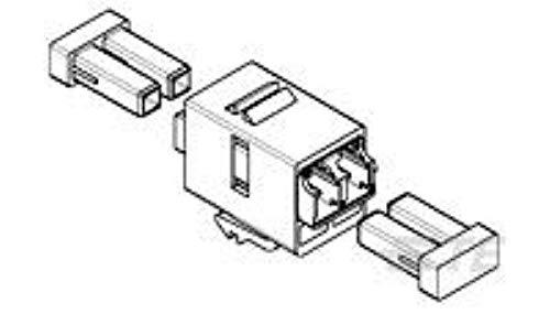 1933286 4 Conn Lc Adapter Single Modemultimode Duplex F St Panel
