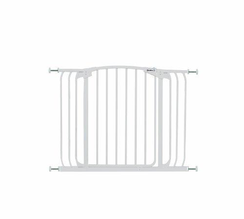 Bindaboo Hallway Pet Gate, Swing Closed, White by Bindaboo Pet Gates -
