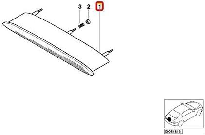 E93 Cabrio 7162309 Bremslicht hinten
