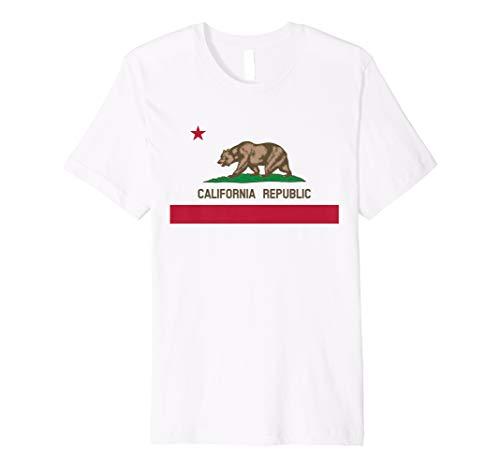 (California Republic State Flag T-Shirt)
