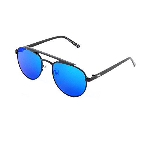 hombre mujer de PROUST sol Negro TWIG espejo Gafas Azul aviador HvxOOwY