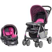 Evenflo Journey Travel System, Koi Party Pink