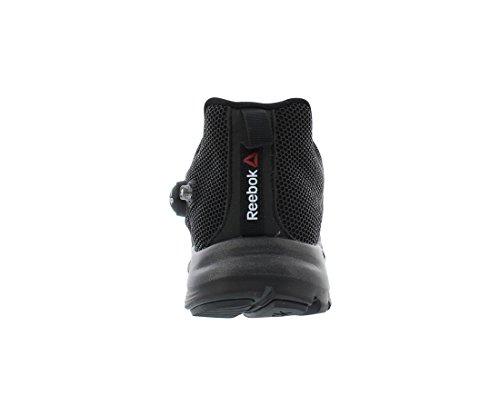 Reebok Polyurethane Shoe Fusion ZPump Black Running Men's tqwrzXt