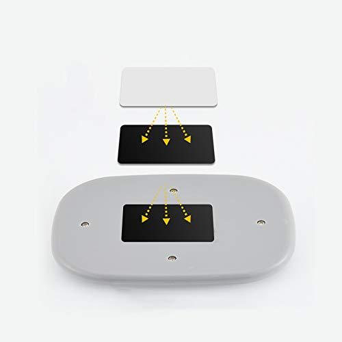 DEBEME Luz Interior de Domo port/átil USB Recargable magn/ético Adsorci/ón Coche Auto LED l/ámpara de Lectura Tronco luz