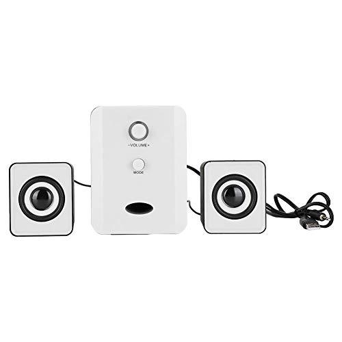 USB Bluetooth Speaker,Mini Wired/Wireless HIFI Heavy Bass Stereo Surround Sound Speaker for Desktop Laptop Computer…