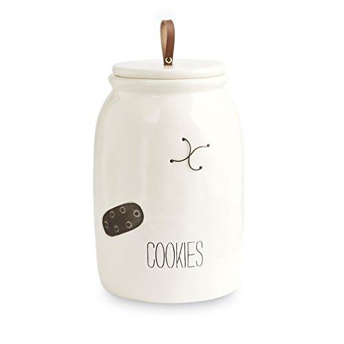 Mud Pie Vintage Inspired Farmhouse Cookie Jar (Jar Family Cookie)