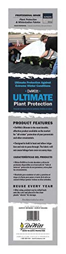 DeWitt Ultimate 2.5 oz 6' x 250' Plant Frost Protection Cloth Freeze Blanket Ultimate6
