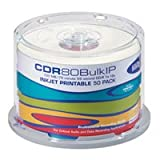 HHB CDR-80 Inkjet Printable Recordable Compact Disc - 50 Disc Spindle