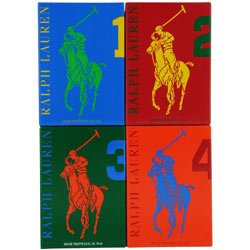 Polo Big Pony Men 4 Piece Gift Set Travel Collection by Ralph - Women Lauren Ralph For 2