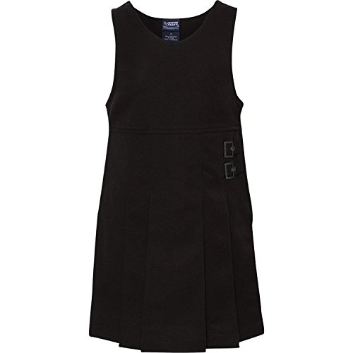 Price comparison product image French Toast Little Girls' Double Buckle Tab Jumper,  Black,  6
