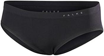 Unterhose aus Funktionsfaser FALKE Damen Panties Underwear Warm Pantie 1 er Pack atmungsaktive Boxershorts Schwarz