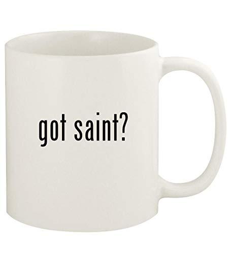 got saint? - 11oz Ceramic White Coffee Mug Cup, ()