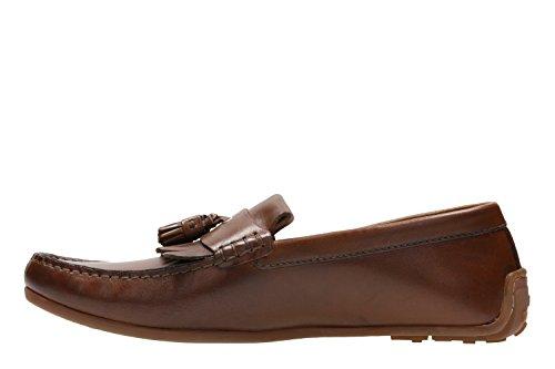 Clarks Formal Hombre Zapatos Reazor Speed En Piel Marrón