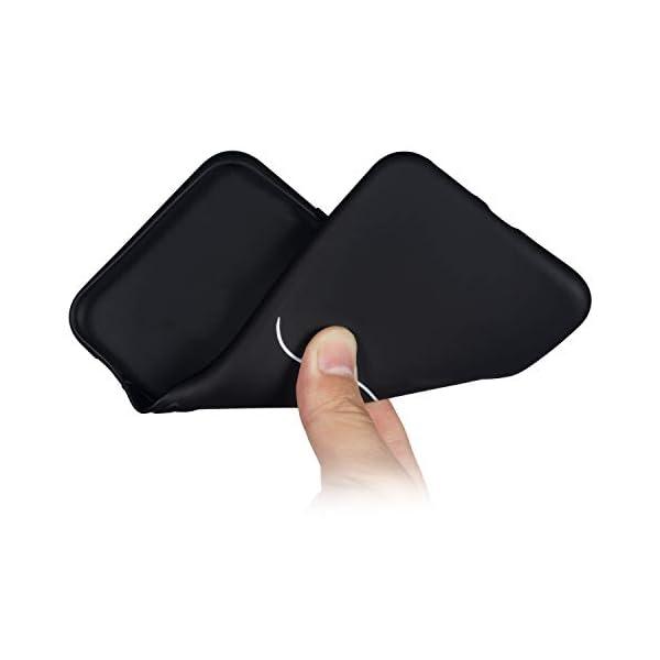 Robinsoni Cover Compatible con Huawei P20 Case Flessibile Nera Custodia in Gomma Antiurto Caso Modello Semplice Silicone… 5 spesavip