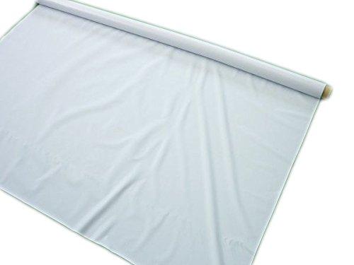 白色ビニールシート 厚み0.1mm×幅1370mm×100m巻   B017CK3SR2